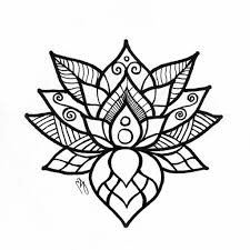lotus drawing images lotus flower drawing sketch coloring