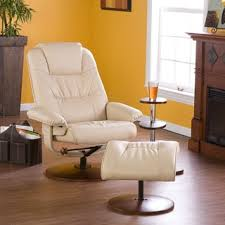 modern swivel recliner and ottoman free shipping today
