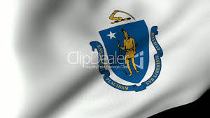 Massachusetts how to travel the world for free images Massachusetts state flag waving royalty free video and stock footage jpg