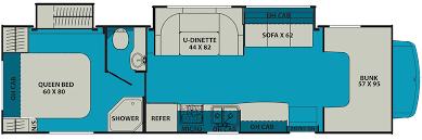 Coachmen Class C Motorhome Floor Plans Coachmen Leprechaun Motor Homes For Sale