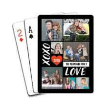 custom cards personalized deck of cards photo