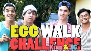 Challenge Wassabi Productions Egg Walk Challenge Ft Kian Jc