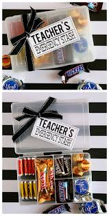 teacher u0027s emergency stash appreciation gifts teacher and gift