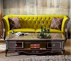 Yellow Leather Sofa Yellow Leather Sofa Set Yellow Leather Sofa Set Suppliers And
