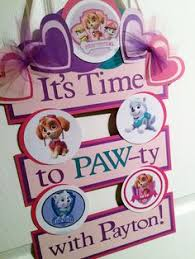 paw patrol u0027s birthday party invitation printable skye