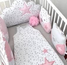 chambres bébé fille tour de lit bébé en 60cm large ou décoration chambre d enfant