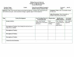 tiered lesson plan template faceboul com