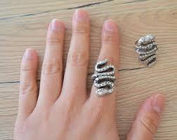 urban animal ring holder images Silver snake ring etsy jpg