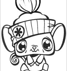 lps coloring pages kids fun 50 coloring pages littlest pet
