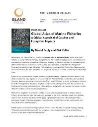 global atlas of marine fisheries press release by island press issuu