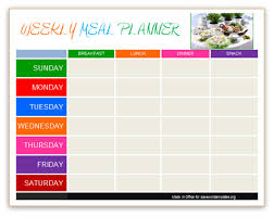 9 best images of diet calendar template 2013 meal planning