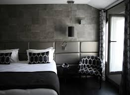 bedroom small grey bedroom with white comfort bed and black