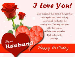 100 birthday sms for husband with wishes and sweet birthday