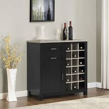 Gray Bar Cabinet Dining Room Bar Cabinet Wayfair