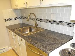tile accents for kitchen backsplash kitchen cool kitchen backsplash subway tile with accent