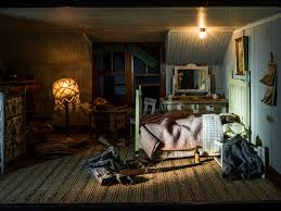 peek into tiny crime scenes hand built by an obsessed millionaire