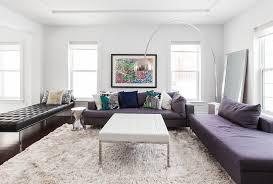 White Shag Rug White Shag Rug Living Room Contemporary With Arc Lamp Barcelona