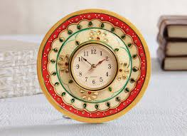hand painted showpiece watch best table watch online gift store