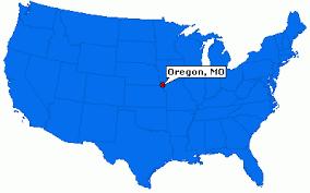 map of oregon mo oregon missouri city information epodunk