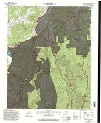 Topographical Map Of Tennessee by Maps And Google Files
