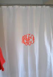 Monogram Shower Curtains Monogram Shower Curtain Home Windows Doors Love Family
