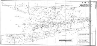 Ventura County Map Geologic Structure Of The Upper Ojai Valley And Chaffee Canyon