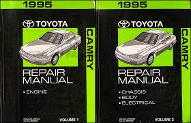 1993 toyota camry repair manual 1995 toyota camry repair shop manual original 2 vol set