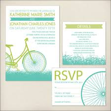 Wedding Invitations Packages Bike Ride Wedding Invitation Package By Dreamtreedesign On