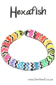 bracelet looms bands images Hexafish loom band bracelet tutorial loomband jpg