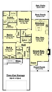 142 1065 floor plan main level house plans pinterest ranch