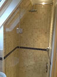 Small Attic Bathroom Sloped Ceiling by Loft U0026 Sloping Ceiling Showers U2013 Glass360 U2013 Specialist And Bespoke