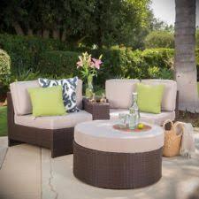 wicker outdoor furniture sets ebay