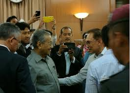 anwar dr m issue joint statement against nsc act malaysia malay