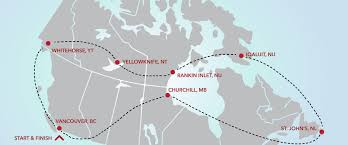 Churchill Canada Map by A Culinary Adventure Across The Top Of Canada Nuvo