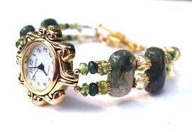 beaded bracelet watches images Beaded watches swarovski crystal pearl gemstone bead watch bands jpg