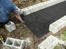 diy raised garden beds with cinder blocks home design garden