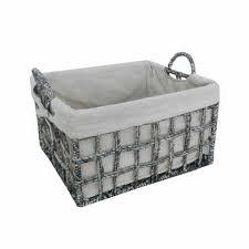 Bathroom Basket Storage Hampers U0026 Baskets Wicker Storage Baskets Dunelm