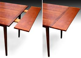 shaker tapered leg dining table cherry finewoodworking