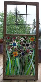 Garden Glass Art 25 Unique Mosaic Windows Ideas On Pinterest Broken Glass Art