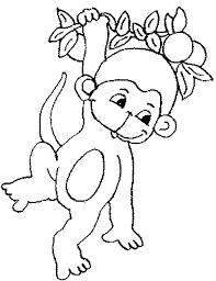 kidscolouringpages orgprint u0026 download free printable monkey
