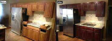 staining kitchen cabinets before and after kitchen cabinet refinishing staining kitchen cabinets kitchen