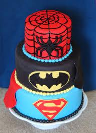 kid superhero cake cakes gallery