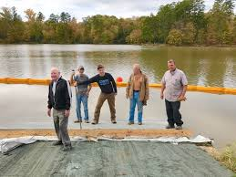 Banister Lake Work Progressing On Banister Lake Boating Landing Project Local