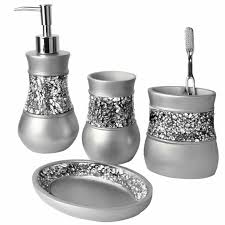 accessories bathroom accessories sets diamante white ceramic elite