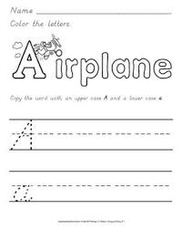 1 trace letters 2 write within the lines 3 letter formation 4
