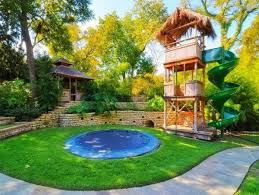 Landscaping Ideas For Big Backyards by Backyard Landscaping Ideas For Kids With Ideas For A Playground In
