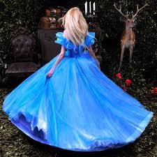 Upscale Halloween Costumes Aliexpress Buy 2015 Movie Cinderella Princess Dress
