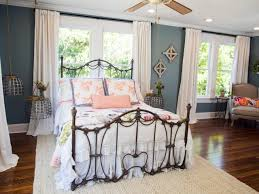 Bedroom Furniture Placement Windows Bed Placement In Front Of Windows Use Curtains To Make Window