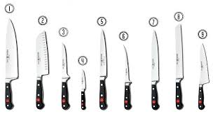 kinds of kitchen knives beautiful types of kitchen knives image kitchen gallery image