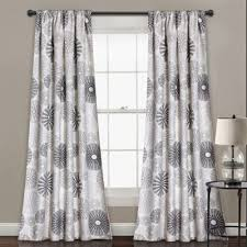 Grey And White Curtain Panels Buy Charcoal Gray Panel Curtains From Bed Bath U0026 Beyond